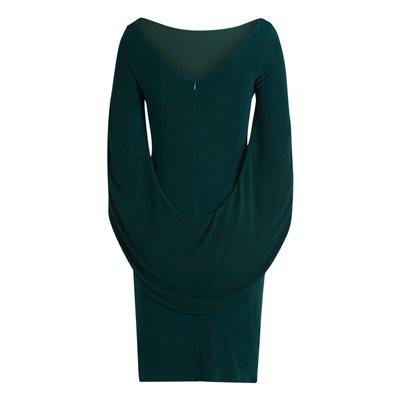 Wizytowa zielona sukienka Vera Mont