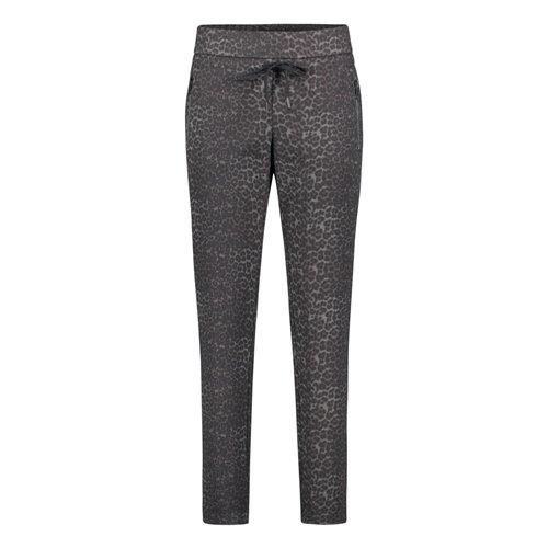 Wzorzyste spodnie w panterkę Betty Barclay