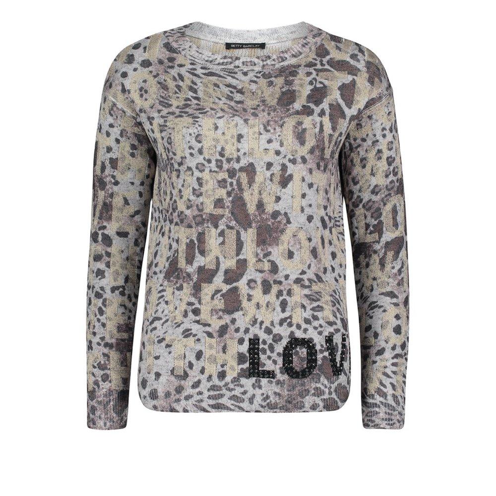 Panterkowy sweter Betty Barclay