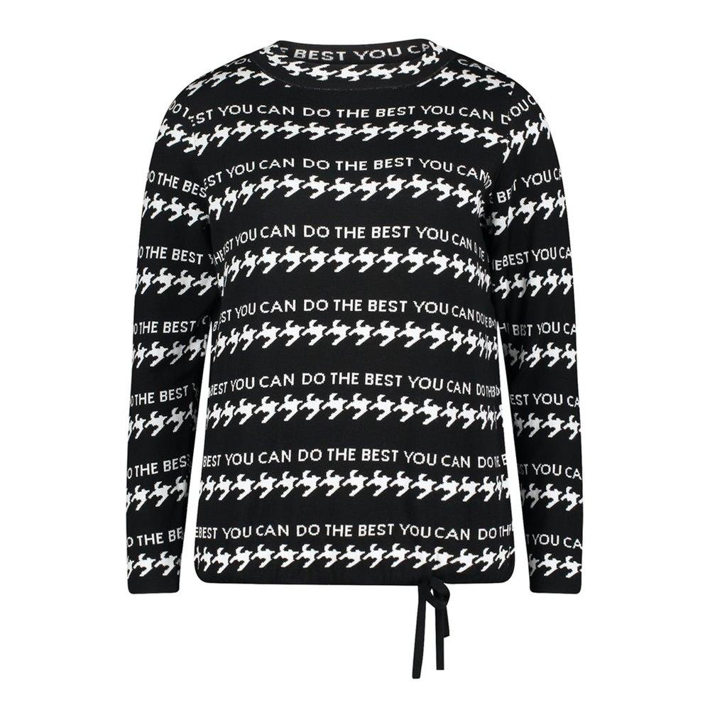 Wzorzysty sweter Betty Barclay