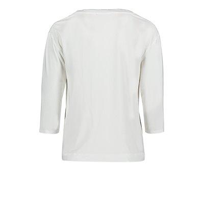 Jednolita z nadrukiem bluzka BETTY & CO