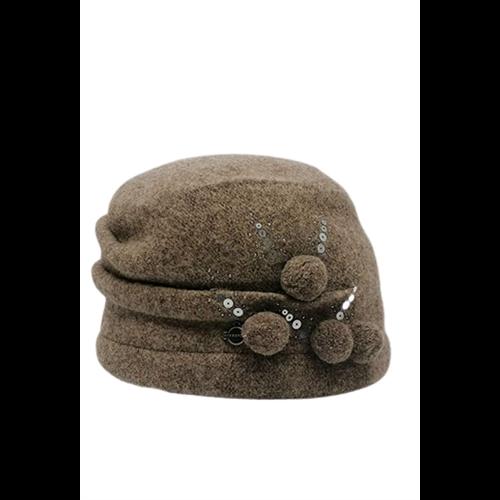 Cappuccino czapka SEEBERGER
