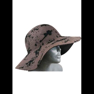 Beżowy kapelusz SEEBERGER