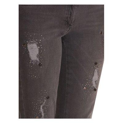 Grafitowe jeansy Betty Barclay