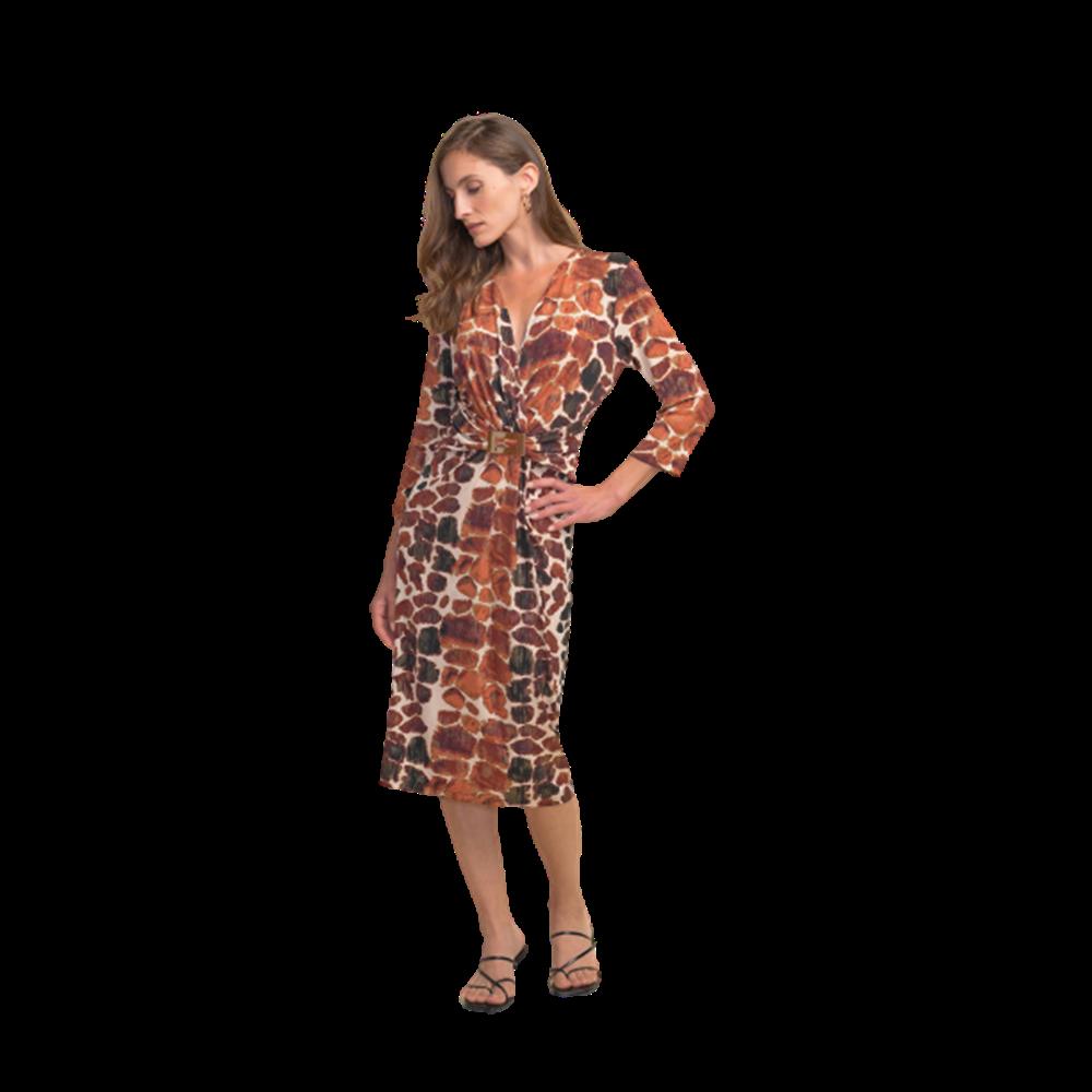 Wzorzysta sukienka Joseph Ribkoff