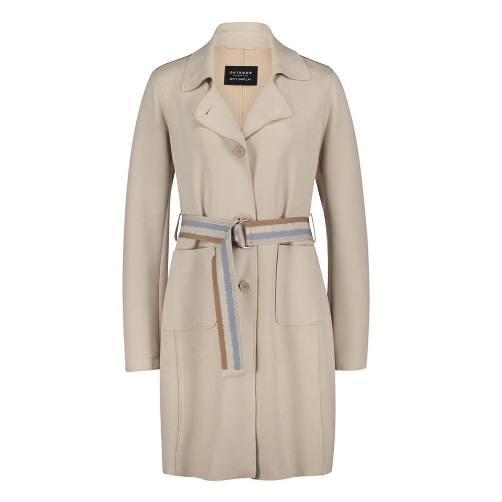 Beżowy płaszcz Betty Barclay
