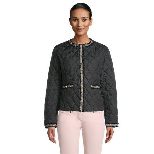 Czarna pikowana kurtka Betty Barclay