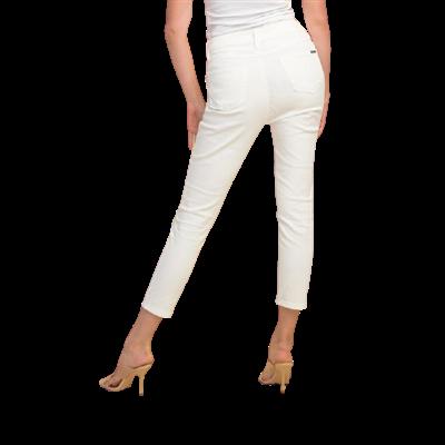 Białe spodnie z aplikacją Joseph Ribkoff
