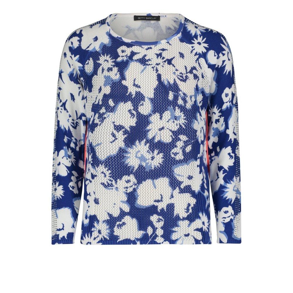 Sweter z nadrukiem w kwiaty Betty Barclay