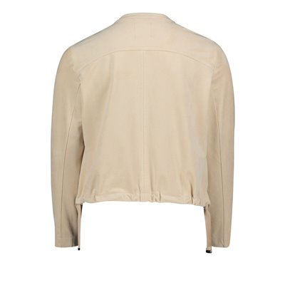 Bluza beżowa na suwak Betty&CO