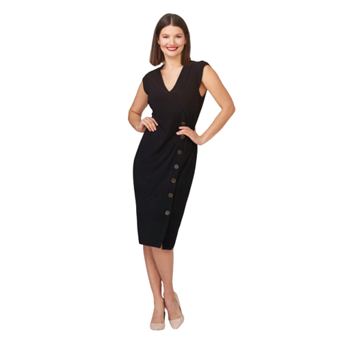 Elegancka czarna sukienka Joseph Ribkoff