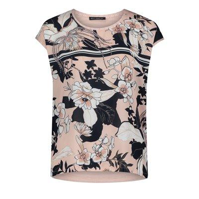 Jednolita bluzka z nadrukiem w kwiaty Betty Barclay