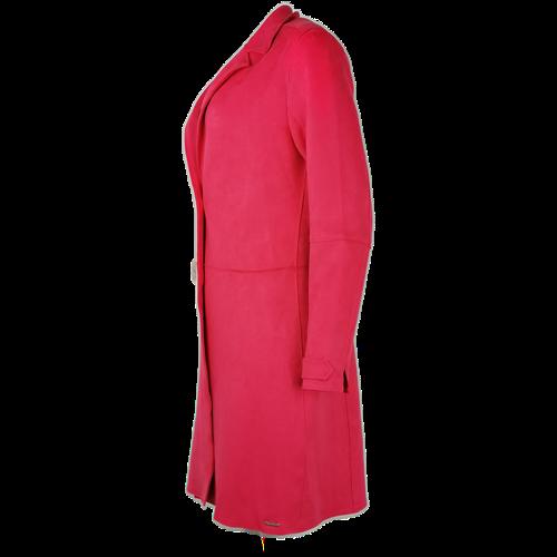 Amarantowy płaszcz RINO & PELLE