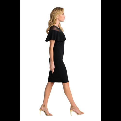 Wizytowa czarna sukienka Joseph Ribkoff