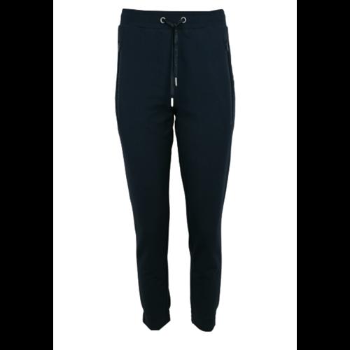 Granatowe spodnie dresowe Le Comte