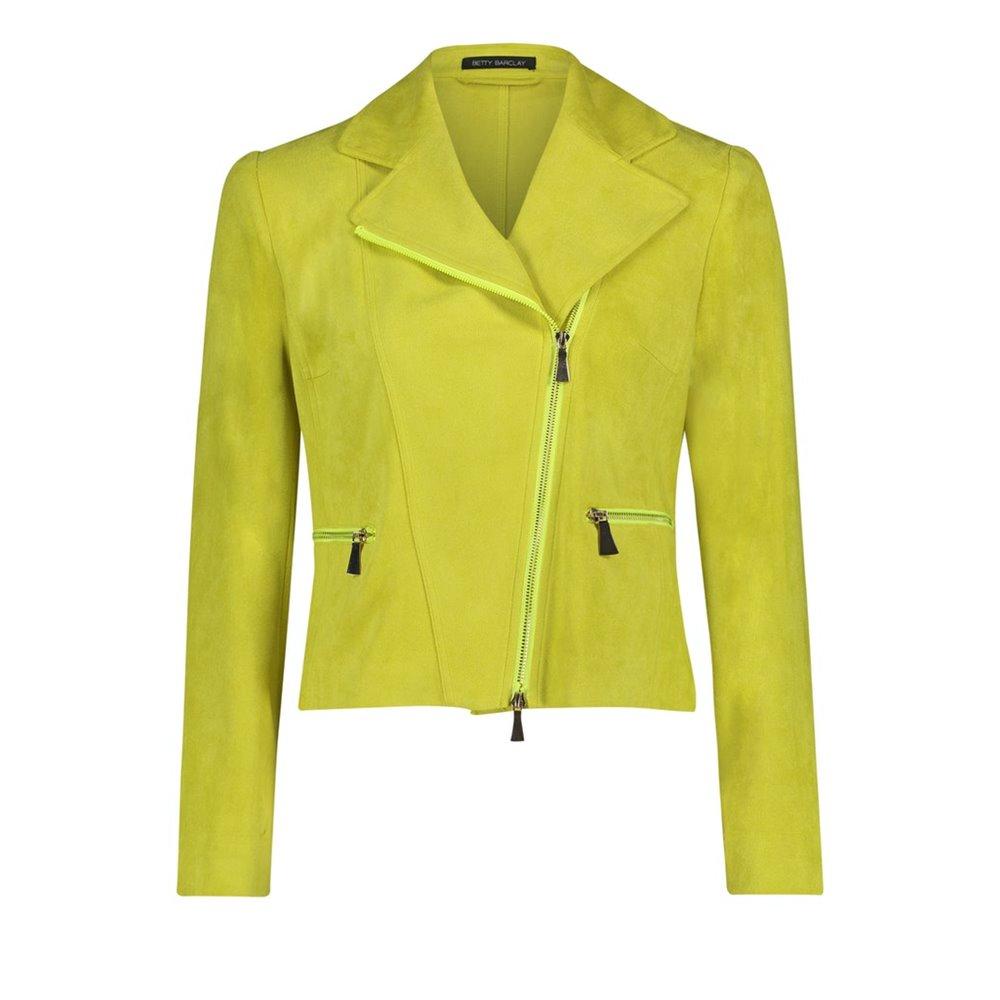 Limonkowa kurtka Betty Barclay