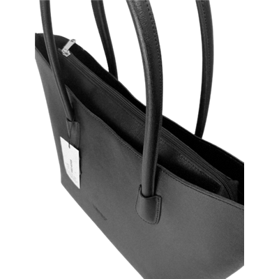 Czarna torebka skórzana VERSO