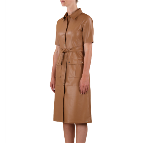Sukienka ze skóry ekologicznej RINO & PELLE