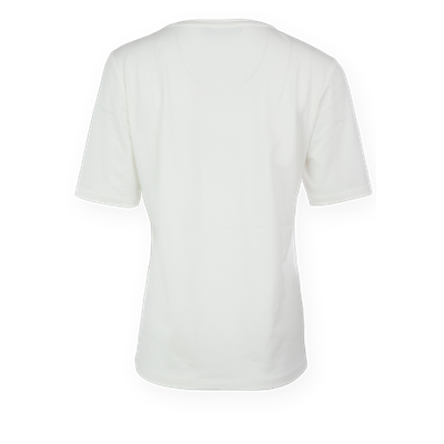 Bluzka ecru z aplikacją Le Comte