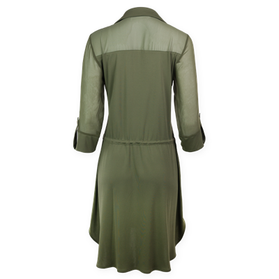 Sukienka khaki FUEGO Ananke