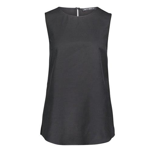 Czarna bluzka bez rękawów Betty Barclay