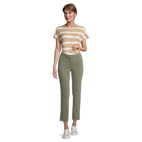 Oliwkowe spodnie Betty Barclay
