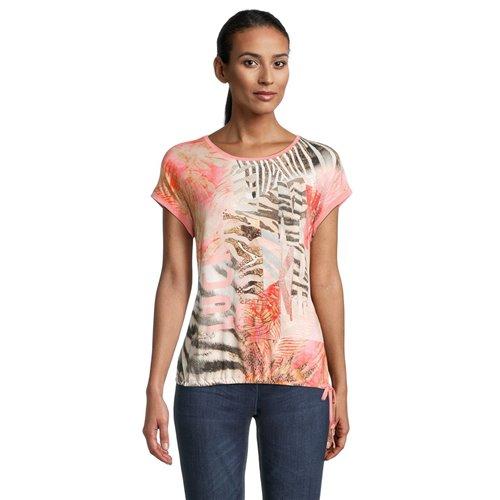 Bluzka koralowa z nadrukiem Betty Barclay