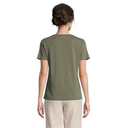 Oliwkowa bluzka z nadrukiem Betty Barclay