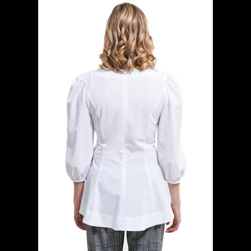 Biała bluzka z wiązaniem Joseph Ribkoff