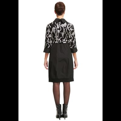 Sukienka z abstrakcyjnym wzorem Joseph Ribkoff