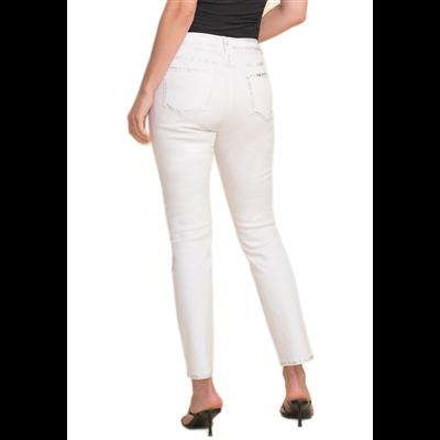 Bawełniane białe spodnie Joseph Ribkoff