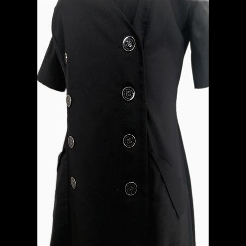 Czarna asymetryczna sukienka POLA MONDI BY MERLA