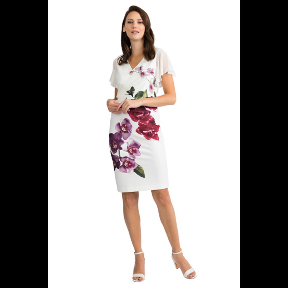 Sukienka w kwiaty Joseph Ribkoff