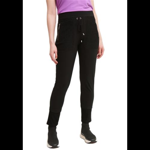 Czarne spodnie dresowe Joseph Ribkoff