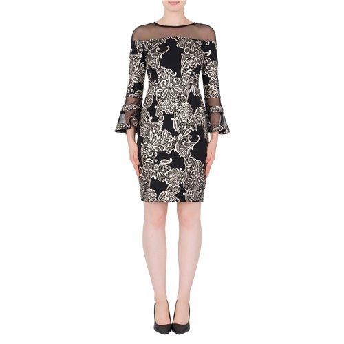 Sukienka Joseph Ribkoff z ozdobną siateczką