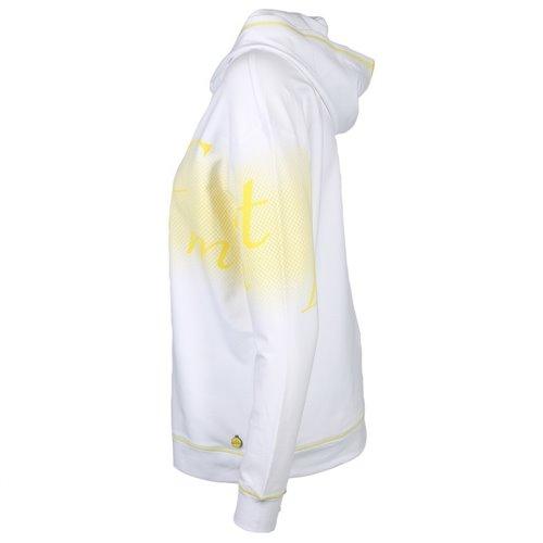 Biała bluza z kapturem Le Comte
