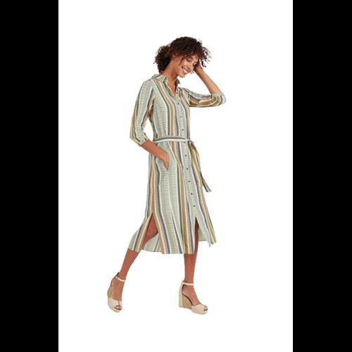 Koszulowa sukienka  z paskiem Expresso
