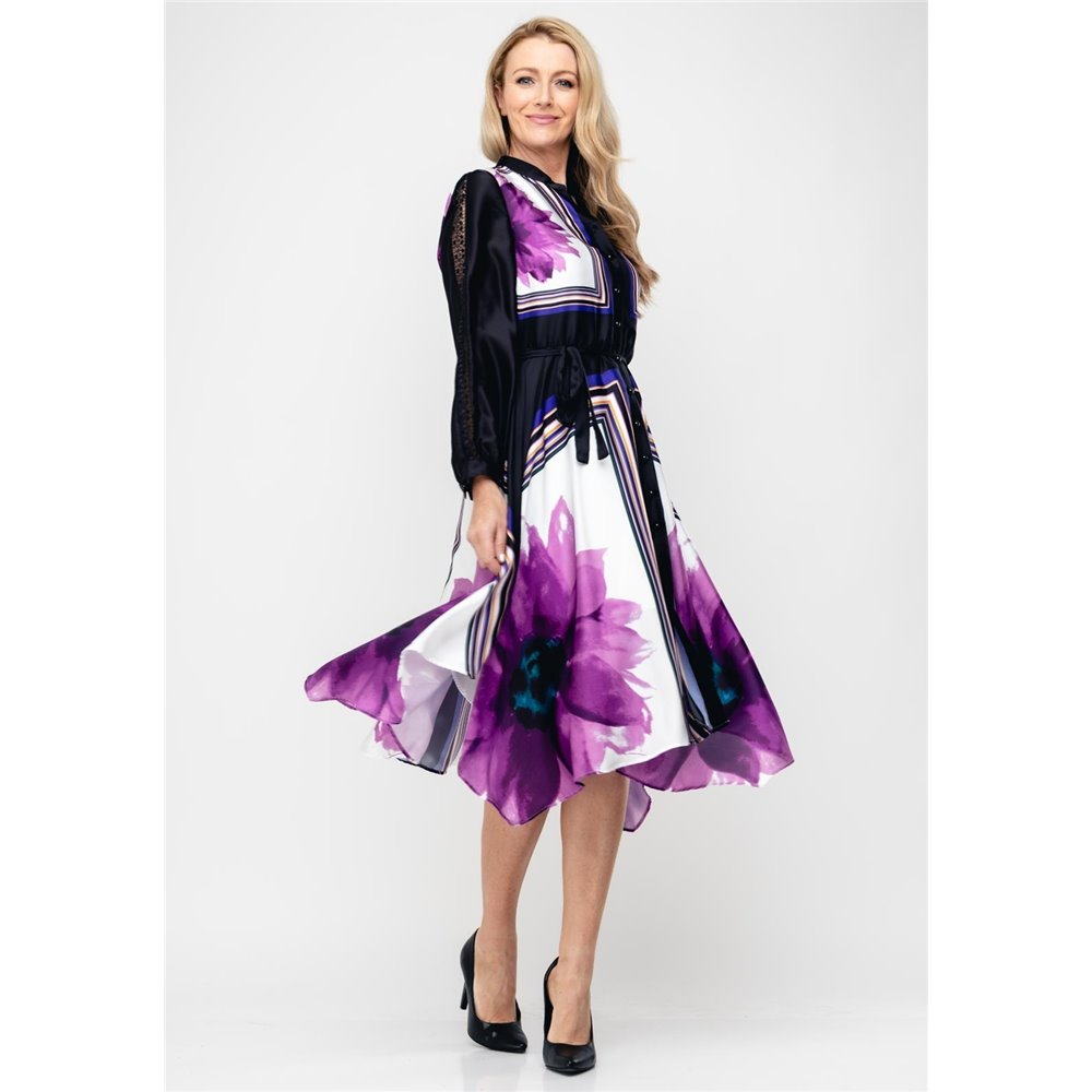 Sukienka Ella Boo  w kwiecisty print