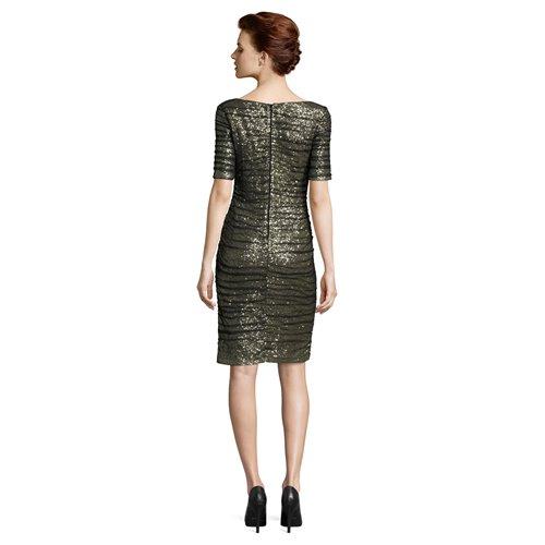 Cekinowa sukienka Vera Mont z brokatem