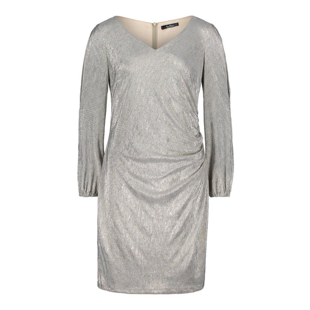 Srebrna sukienka Vera Mont