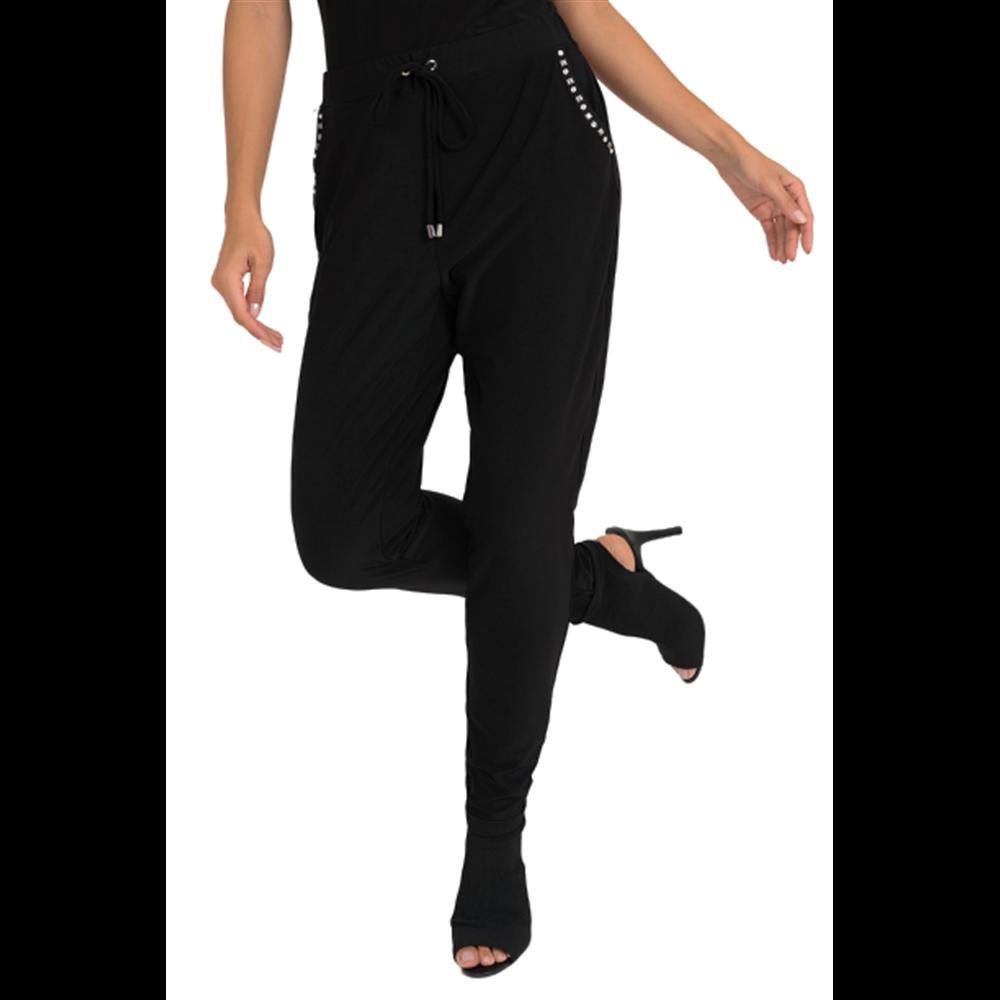 Czarne spodnie Joseph Ribkoff