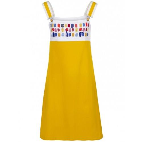 Sukienka żółta FUEGO WOMAN