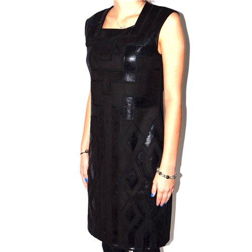 Efektowna czarna sukienka FUEGO WOMAN