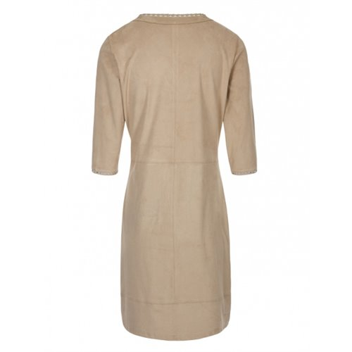 Beżowa sukienka FUEGO WOMAN
