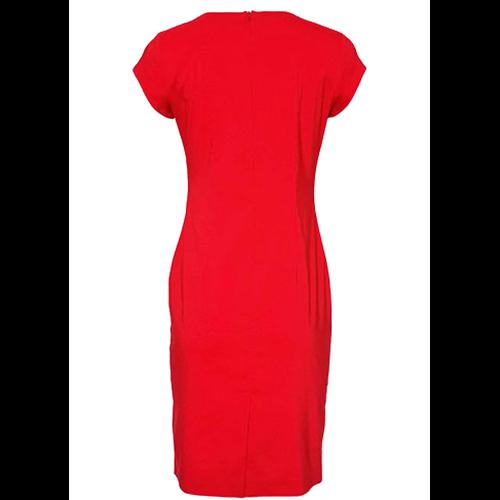 Czerwona sukienka STOKROTKA marki POLA MONDI
