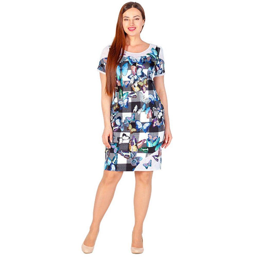 Kolorowa sukienka  POLA MONDI   BALBINA