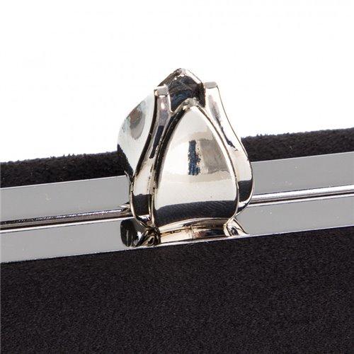 Wieczorowa czarna torebka MENBUR   845670001