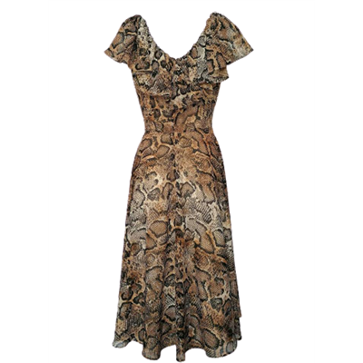 Wężowa sukienka MARSELINI