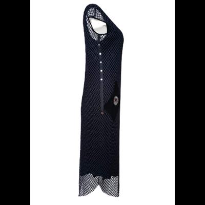 Granatowa asymetryczna sukienka POLA MONDI