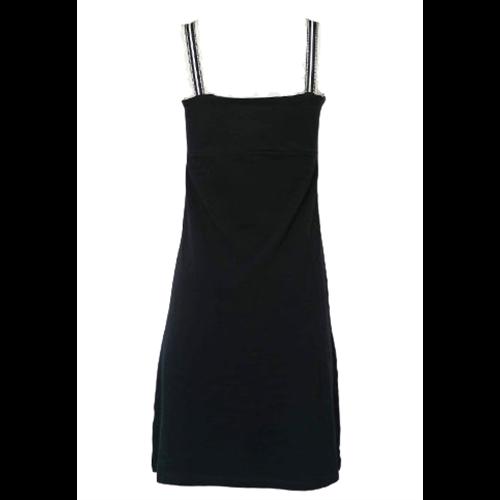 Granatowa bawełniana sukienka ANANKE